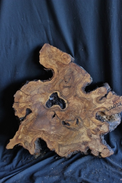 Olive Wood Slab Small Table Top Kc072713 Far West Forest