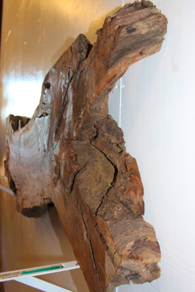 Walnut Wood Mantle Piece, FW011410-1