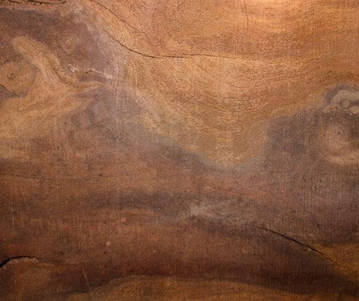 Walnut Wood Mantel Piece, FW011410-2
