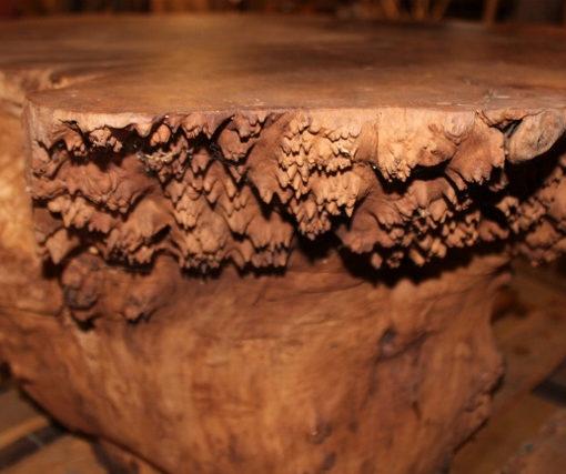 Walnut Burl Stump Base, FW1035