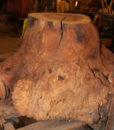 Walnut Burl Coffee Table Base, FW1034