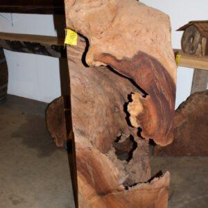 Hollow Walnut Log, FW1031