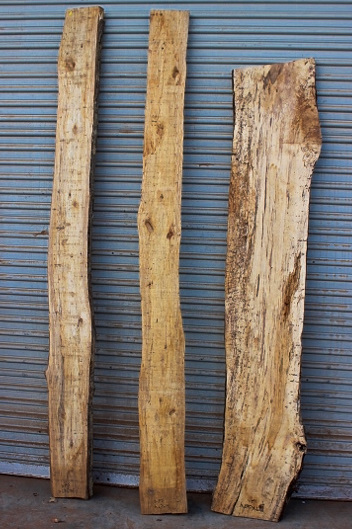Spalted Tan Oak Set of Three, JKSET4