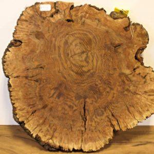 Walnut Burl Round, CHL169