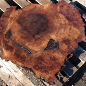 Walnut Burl Round, GM121515-7