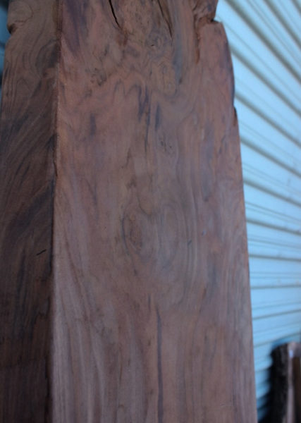 Sanded Walnut Mantle Piece, FW1234