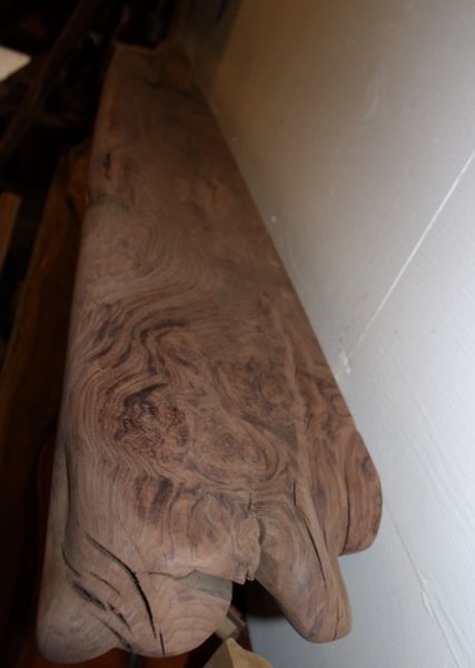 Wormy California Claro Walnut Sanded Mantel, FW051916-1