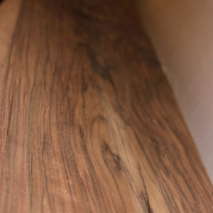 California Claro Walnut Sanded Mantel, FW051916-2
