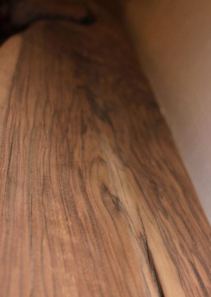California Claro Walnut Sanded Mantel, FW051916-2