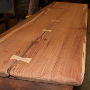 Urban Costal Redwood Sanded Slab, FW051916-3