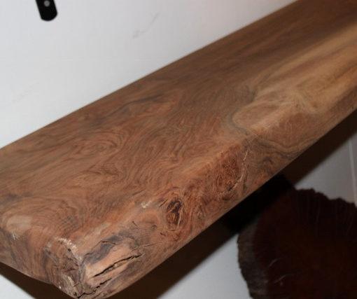 Claro Walnut Sanded Mantel, FW051916-4
