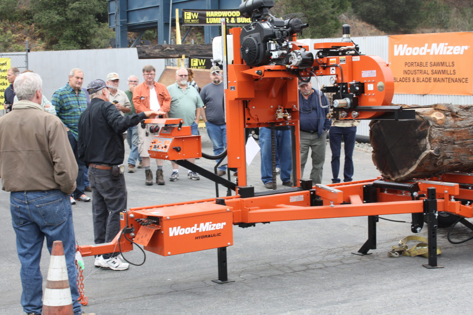Wood-Mizer sawmill alignment seminar
